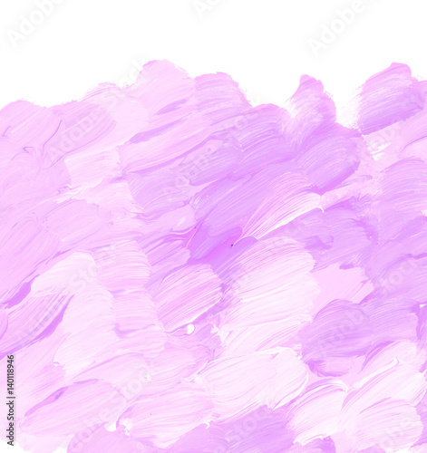 Pale Pastel Rosy Color Acrylic Paint Brush Stroke For Background Hand Drawn Abstract Illustration For Header Greeting Card Poster Wallpaper Buy This Stock Illustration And Explore Similar Illustrations At Adobe Stock