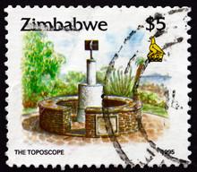Postage Stamp Zimbabwe 1995 The Toposcope