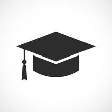 Graduation Academic Hat Icon