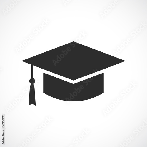 Graduation academic hat icon Canvas Print