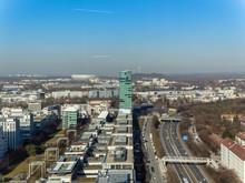 Aerial View To Allianz Arena I...