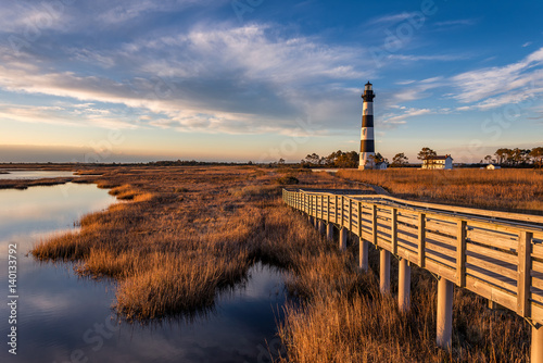 Scenic lighthouse, Outer Banks, North Carolina
