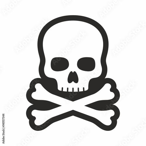 Fotografía Skull icon