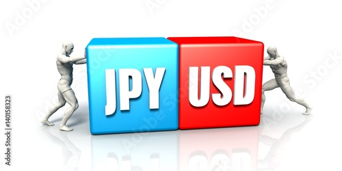 Photo  JPY USD Currency Pair