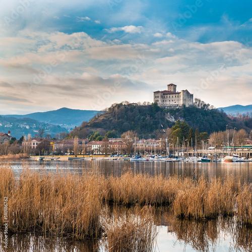 Fotografie, Obraz  Lake Maggiore, Angera, Italy