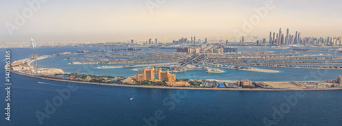 фотография  Jumeriah Palm with Atlantis Hotel an burjh Al Arab