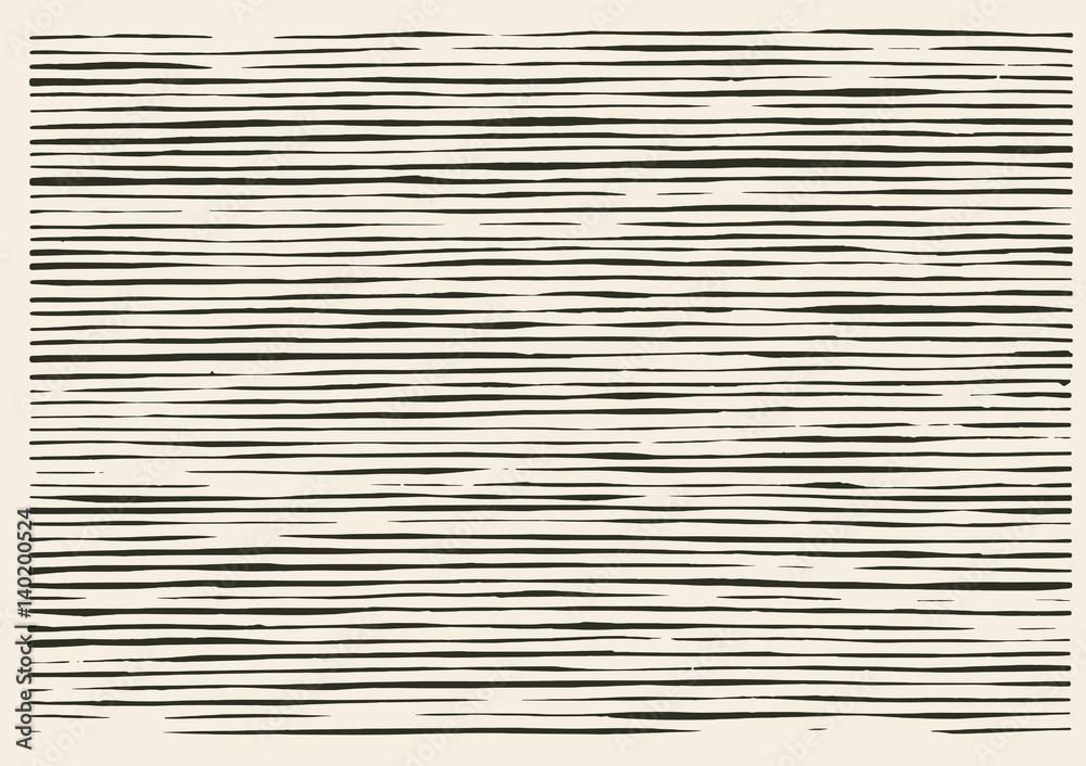 Fototapeta Paper cut irregular lines pattern