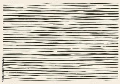 Photo  Paper cut irregular lines pattern