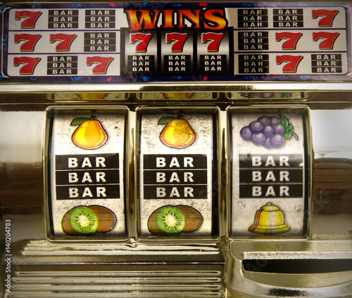 Foto op Aluminium Las Vegas old slot machine