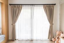 Curtain Interior Decoration In Living Room