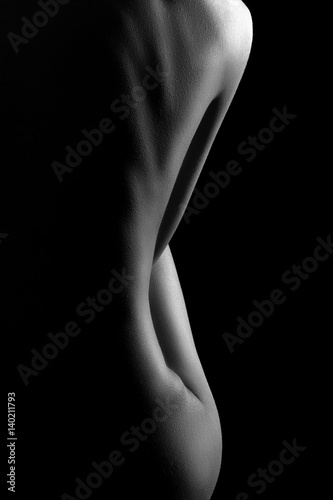 Sexy body nude woman Fototapeta