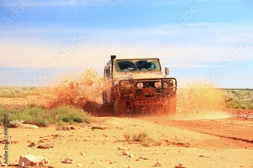 Fotografija Adventure driving in Australian outback
