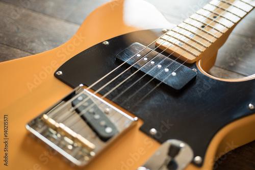 Spoed Foto op Canvas Muziekwinkel american electric guitar
