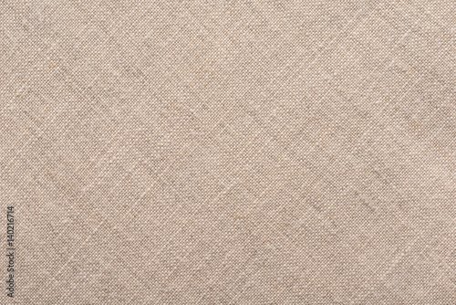 Fotobehang Stof Background of natural linen fabric