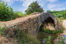 Old Stone Bridge In Peloponnese, Greece