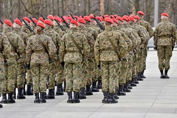 Panel Szklany Militaria Wojsko Polskie