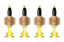 4 Beer Pumps