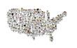Population diversifiée américaine