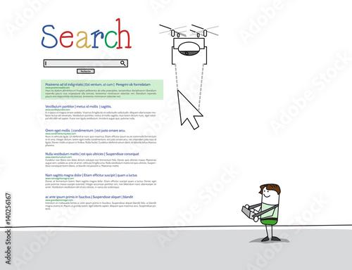 Valokuva  SEO : Positionner un site Internet dans les moteurs de recherche