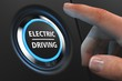 Button Electric Driving - Hand