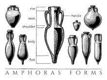 Amphora Forms Set