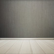 White floor with gray wall wooden interior room texture,background.