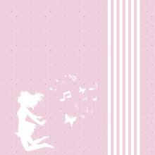 Background, Girl, Flying, Enjo...