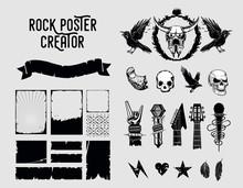 Grunge Design Elements. Sign A...