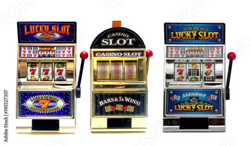Fotografie, Obraz  slot machine