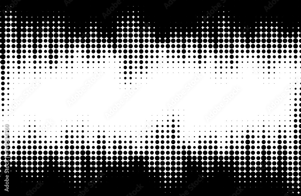 Fototapeta Halftone pattern background texture. Dotted background Texture.