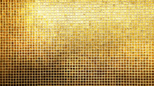 Golden Tiles Pattern