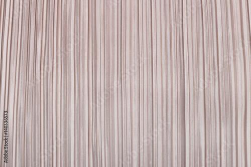 Fényképezés Soft pink pleated fabric. Plisse fabric texture  background.