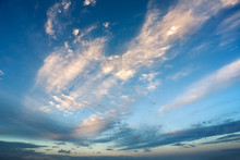 Beautiful Skyscape With Rosy C...
