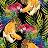 Parrot seamless pattern - 140357175