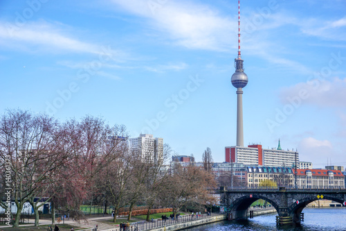 Fotografie, Obraz  Berlin Fernsehturm, Berlin