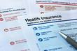 Leinwanddruck Bild - application for health coverage
