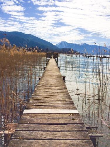 nad jeziorem Tegernsee