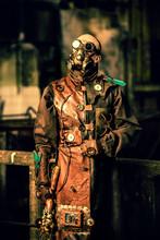 Homme Steampunk