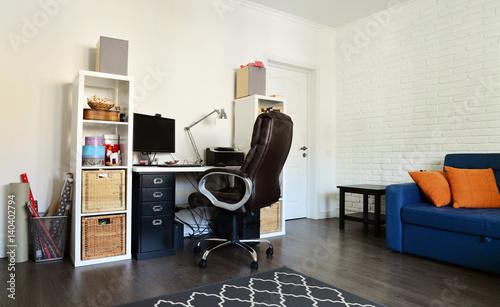 Photo  Home office interior