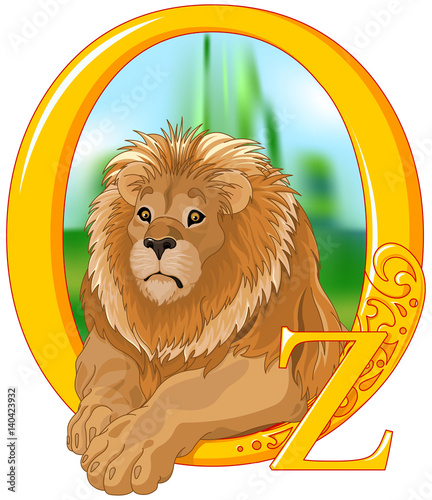 Canvas Prints Fairytale World Lion