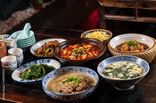Poster Pekin Chinese food