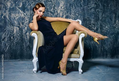 Fotografia, Obraz  retro glamour
