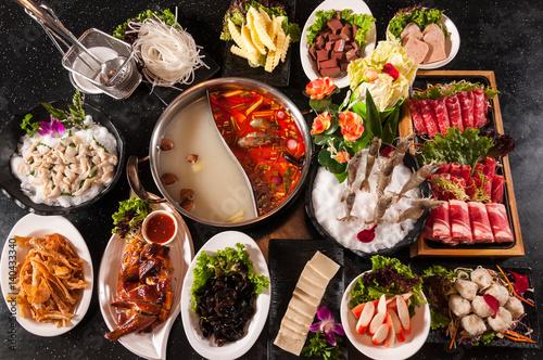Fotografie, Obraz  Thai hot pot