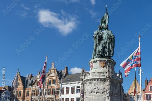 Poster Brugge Bruges (Brugge) - Flandres, Belgique