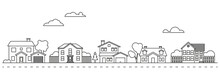 Village Neighborhood Vector Il...