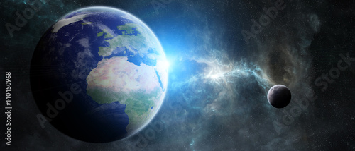 planeta-ziemia-w-przestrzeni