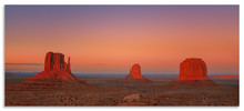 Dusk A Days End At Monument Valley