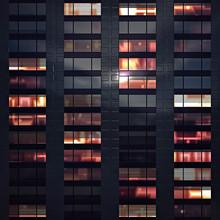 Closeup Of Abstract Skyscraper...