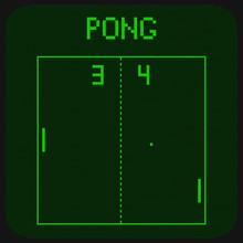 First Ever Computer Game Pong ...