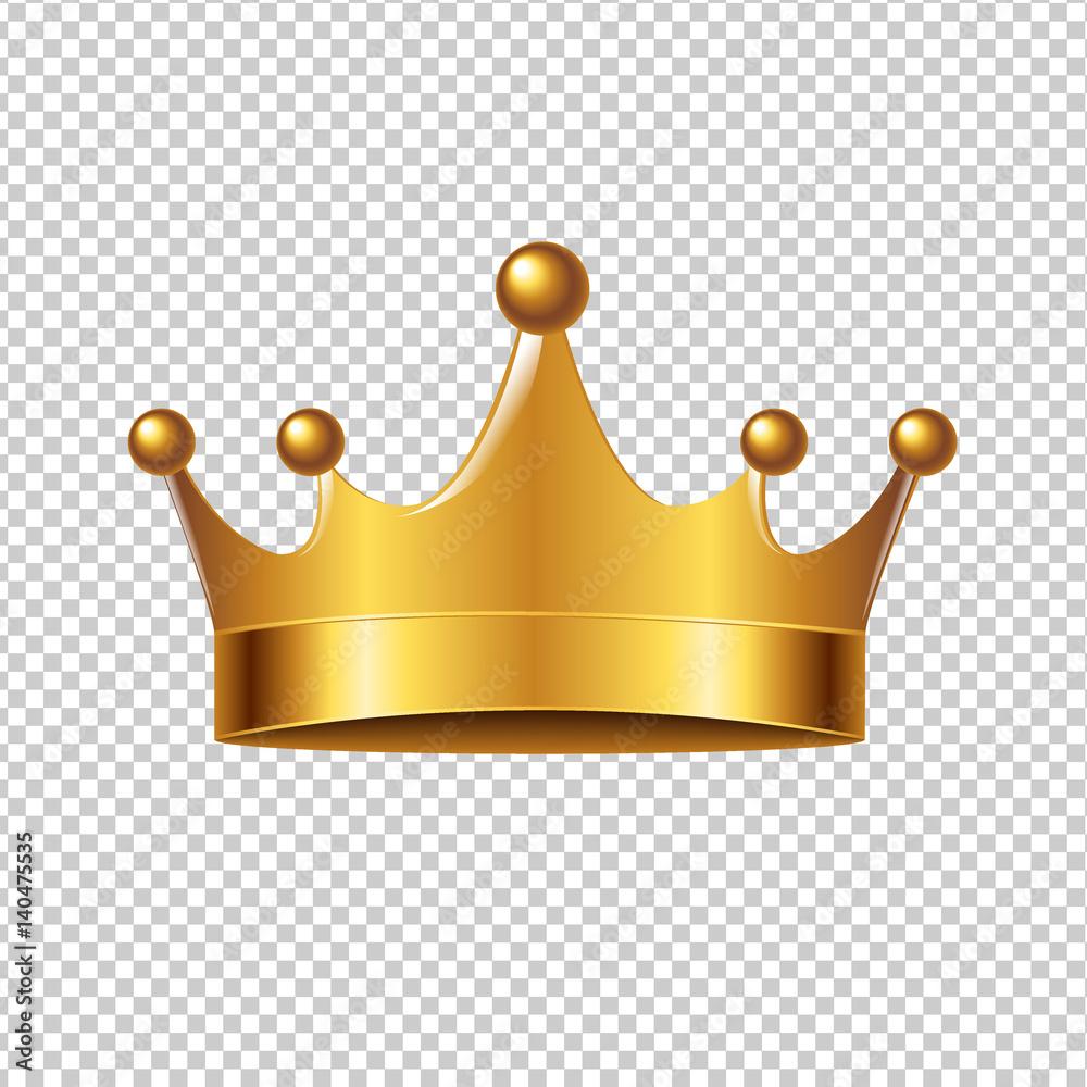 Fototapeta Golden Crown